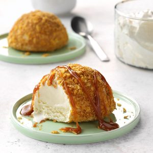 No-Fry Fried Ice Cream