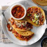 Pressure-Cooker Pork Tacos with Mango Salsa