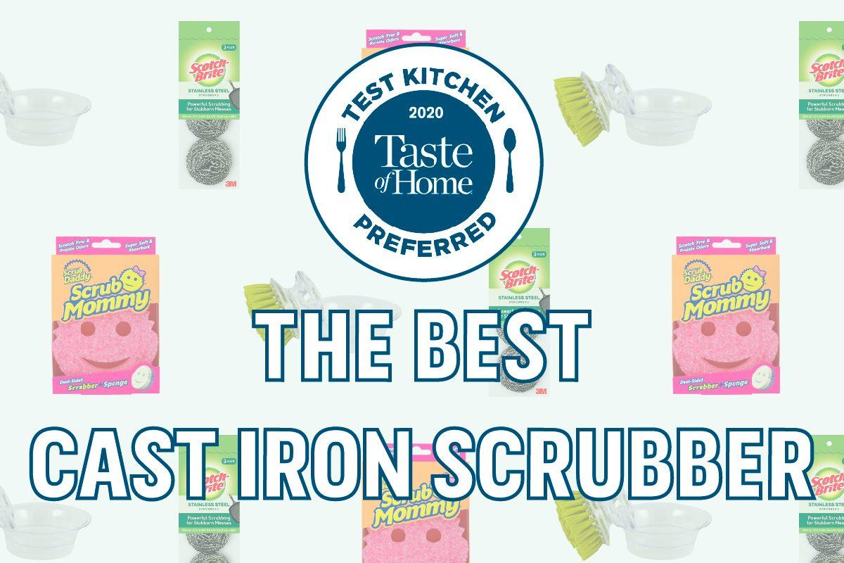 Test Kitchen Preferred The Best Cast Iron Scrubber TKP crop