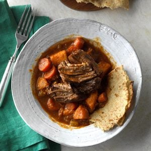 Pressure Cooker Caribbean Pot Roast