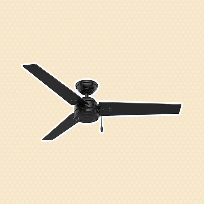 Hunter Matte Black Ceiling Fan