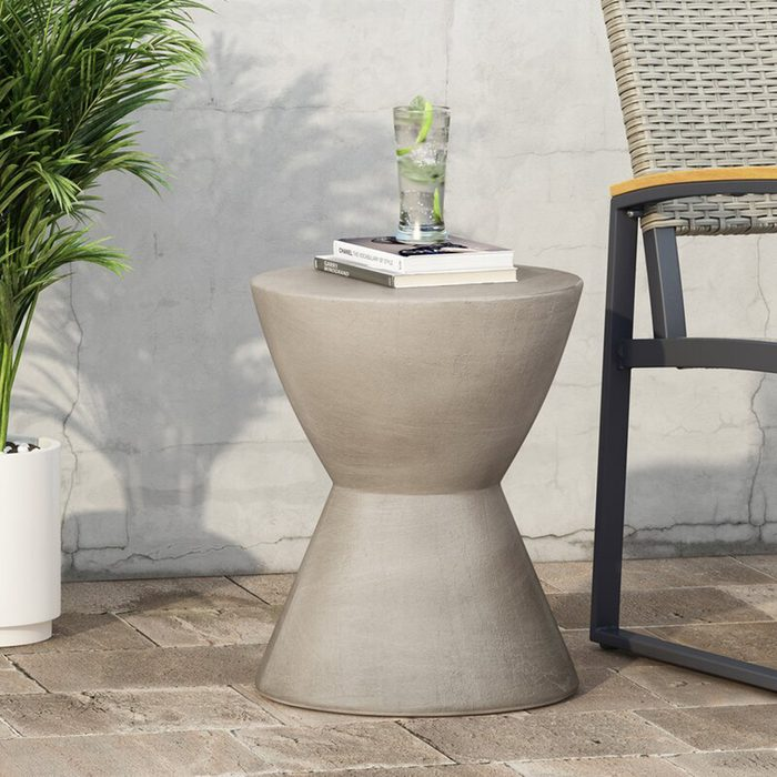 best patio furniture Stories Northrup Concrete Side Table
