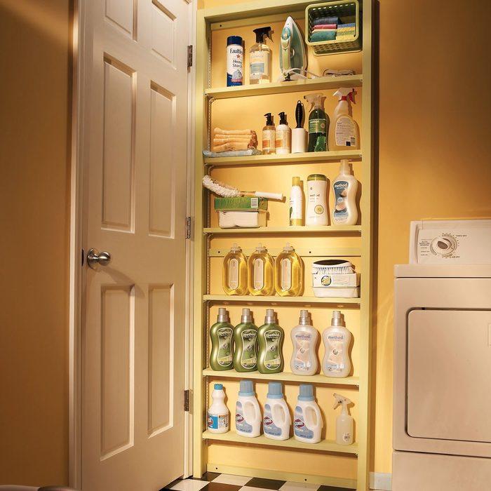 FH07JUN_482_50_016_HSP behind the door storage shelves laundry room