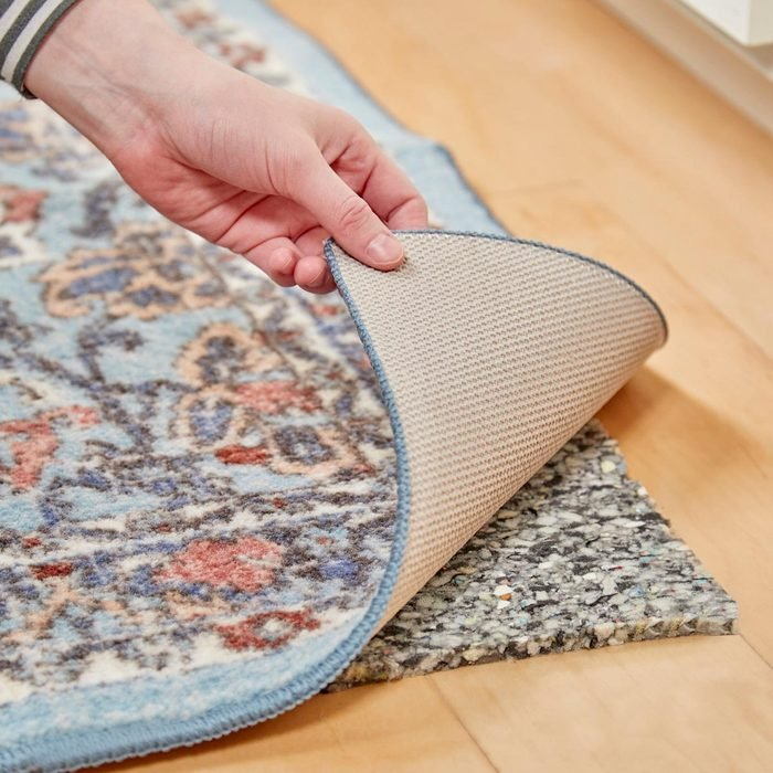 HH carpet padding to make plush rug