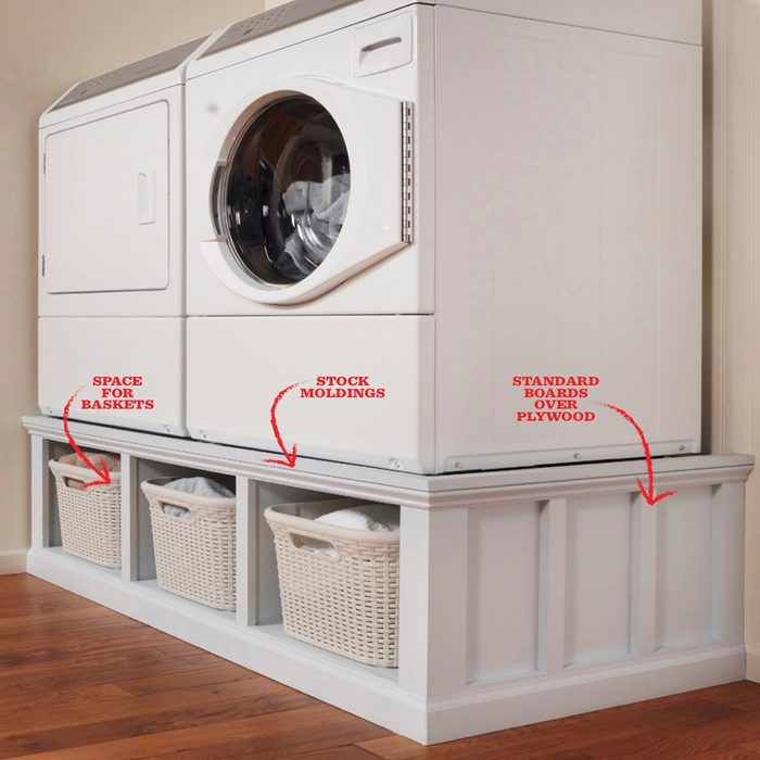 DIY Washer Pedestal