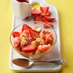 Slow-Cooker Strawberry Pudding Cake