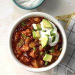 Pressure-Cooker Turkey Chili