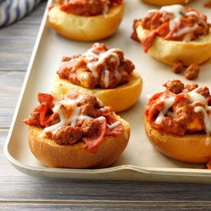 Cheesy Pepperoni Buns