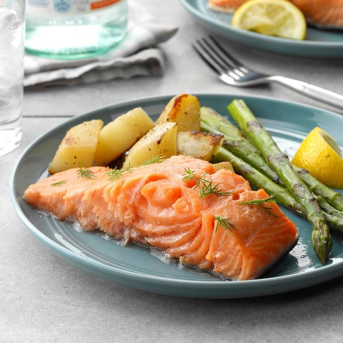 Day 29: Easy Poached Salmon