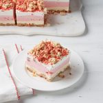 Strawberry Crunch Ice Cream Cake