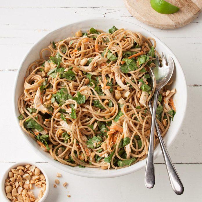 Chicken Satay Noodles