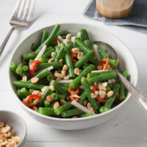 Ginger-Peanut Green Bean Salad