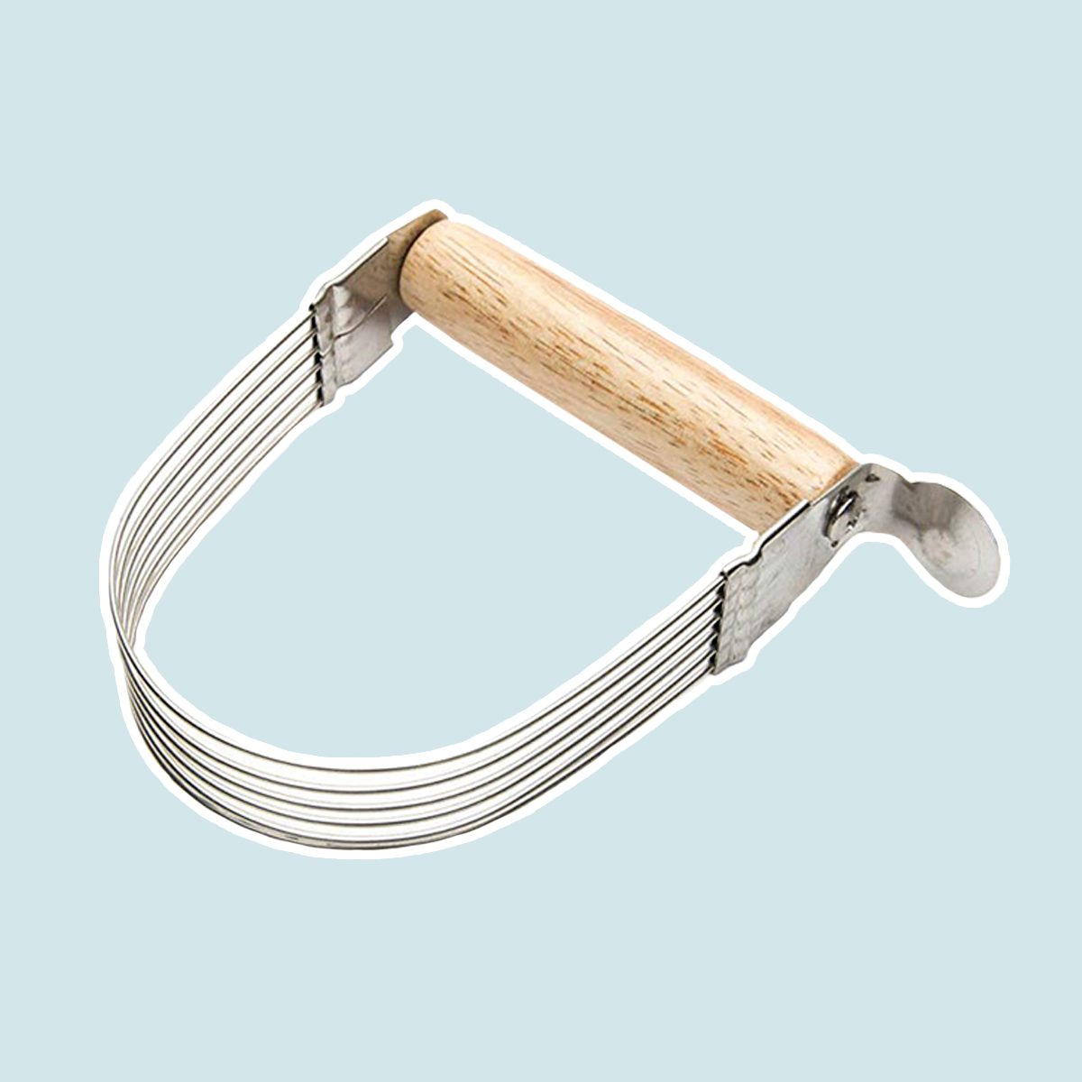 """Fox Run 58544 Wire Pastry Blender, 5"""", Steel and Wood"""