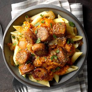 Sausage and Squash Penne