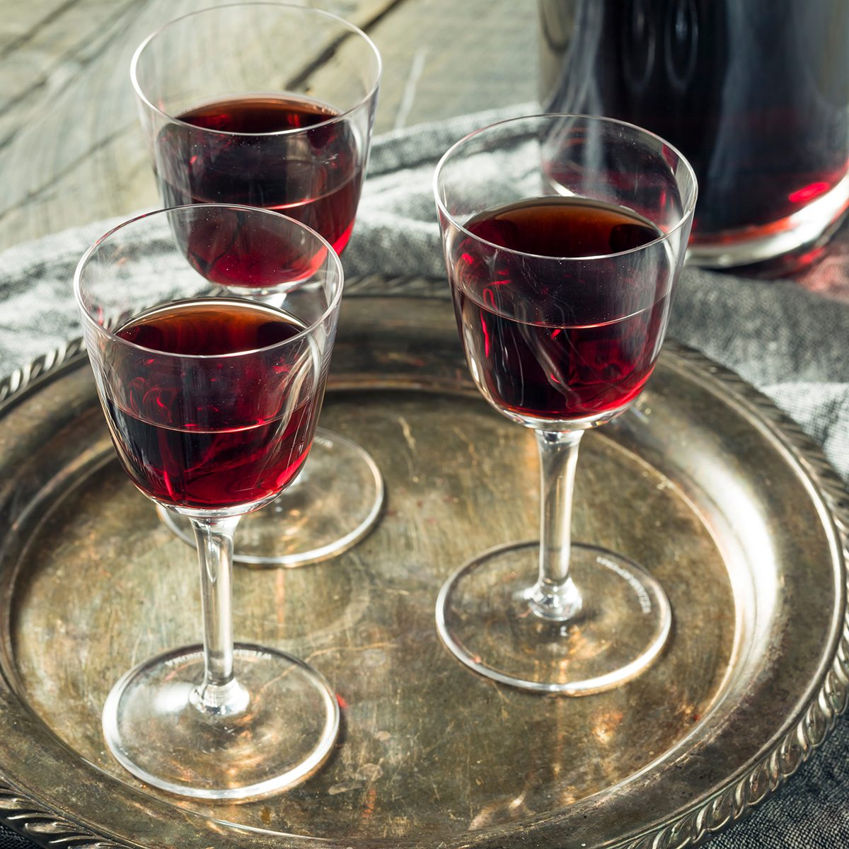 Sweet Port Dessert Wine ready to Drink