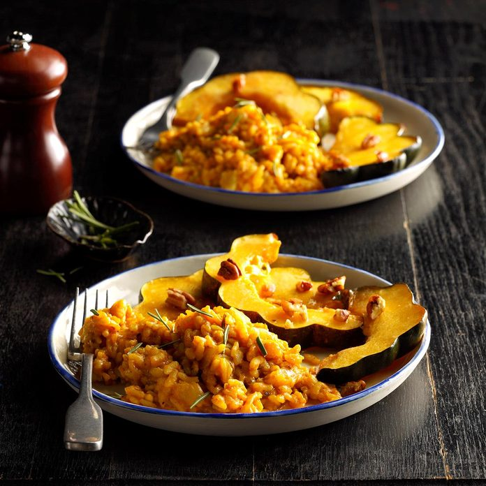 Pressure Cooker Curried Pumpkin Risotto Exps Tohon19 235182 B06 05 1b 2