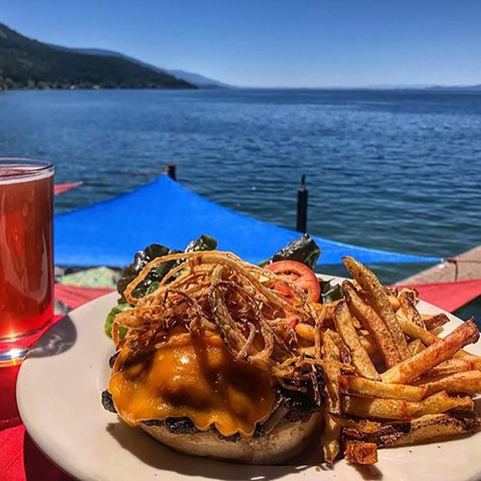 best burger in Montana, The Raven Bar & Grill