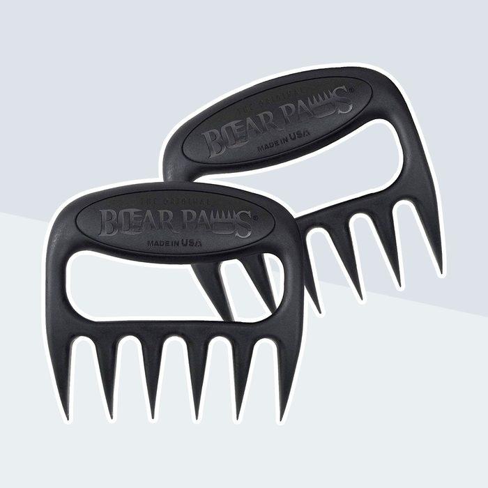 Bear paw-imitating shredder claws