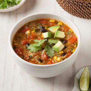 Vegan Tortilla Soup