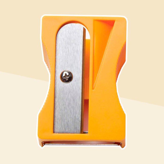 Carrot peeler and sharpener