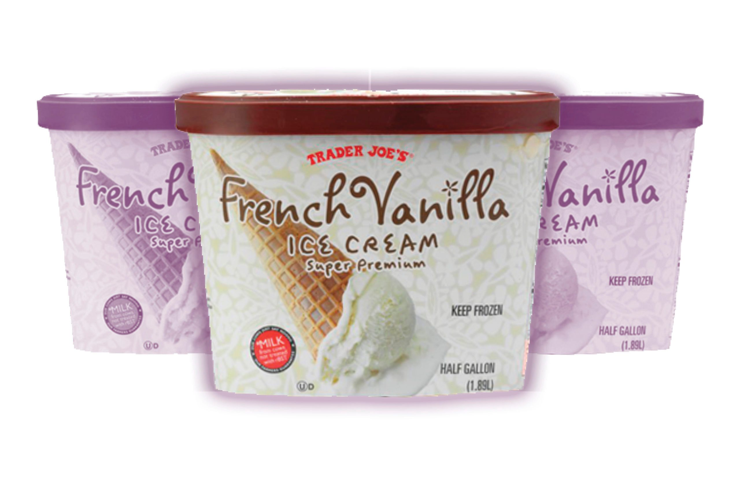 Trader Joes French Vanilla Ice Cream