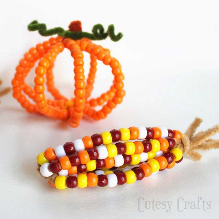 Pony bead corn