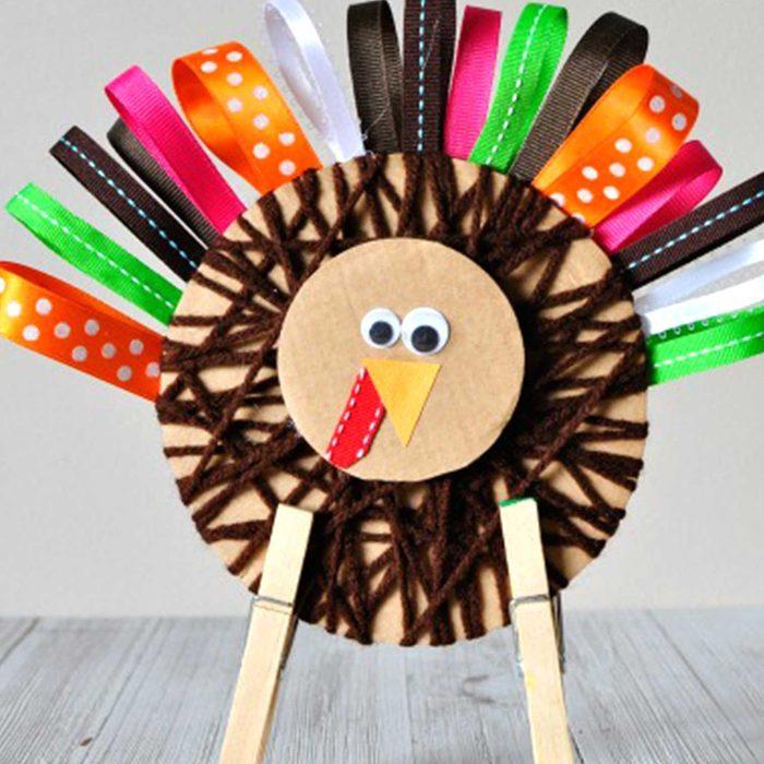 Standing turkey