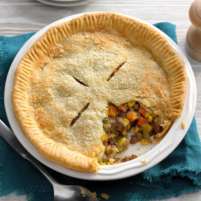 Quick and Easy Vegetable Potpie