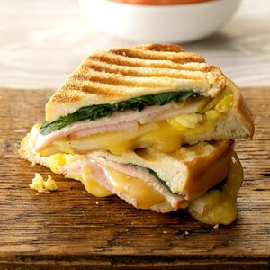Grilled Bistro Breakfast Sandwiches