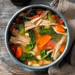 Hearty Pork Bean Soup