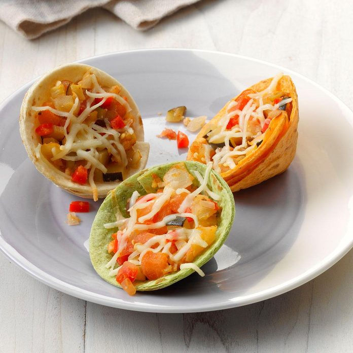 Baked Veggie Cups