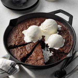 Skillet Stout Brownies