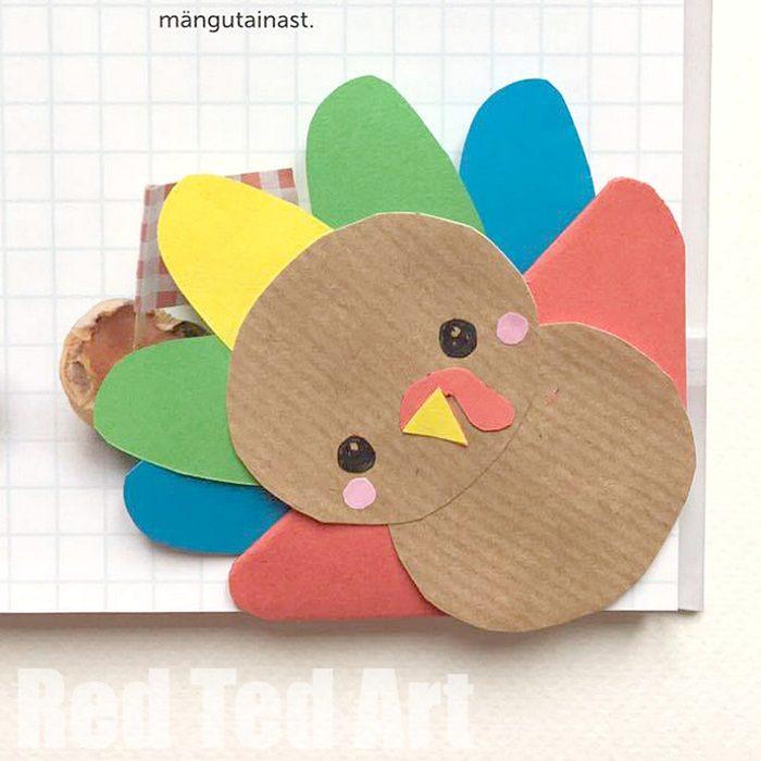 Turkey bookmark