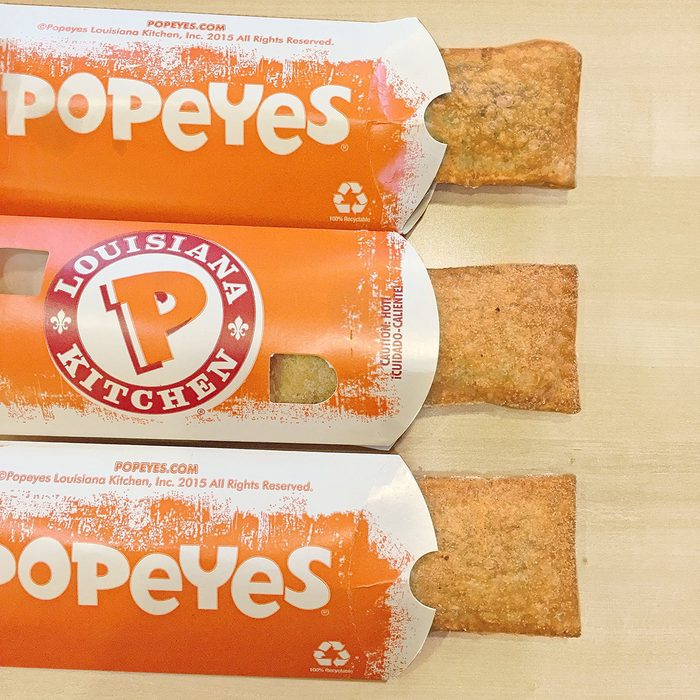 popeyes pies