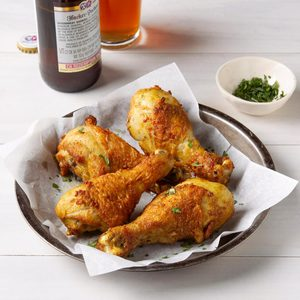 Air-Fryer Crispy Curry Drumsticks