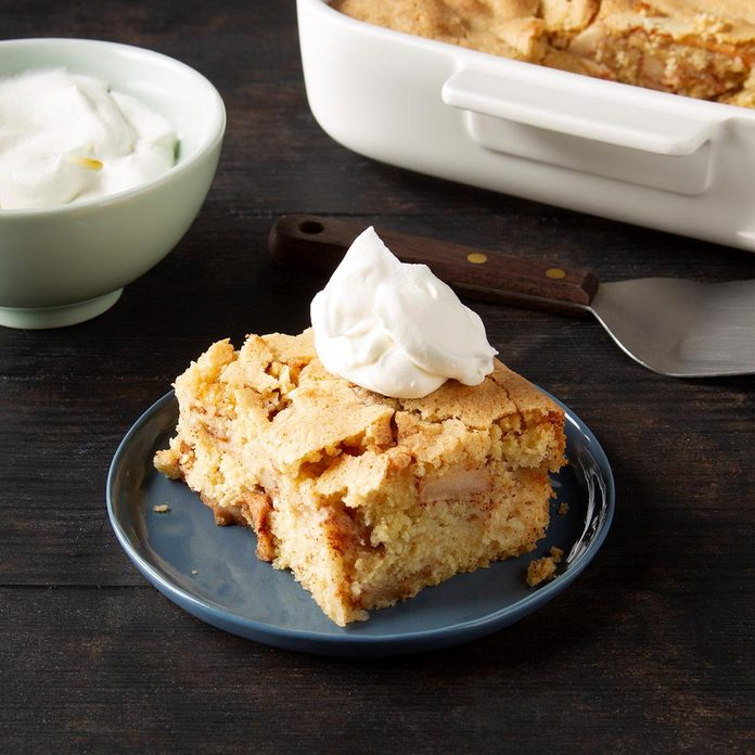 Apple Cake For Passover Exps Ft19 115174 F 1105 1 1
