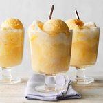 Apricot Ice Cream Soda
