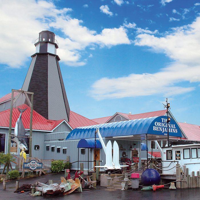 South Carolina: The Original Benjamin's Calabash Seafood, Myrtle Beach