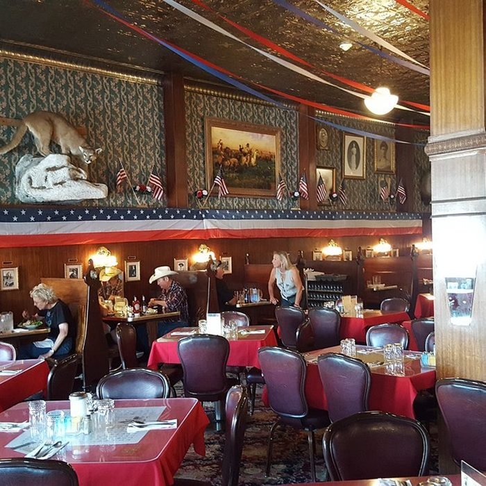 Wyoming: Buffalo Bill's Irma Hotel, Cody