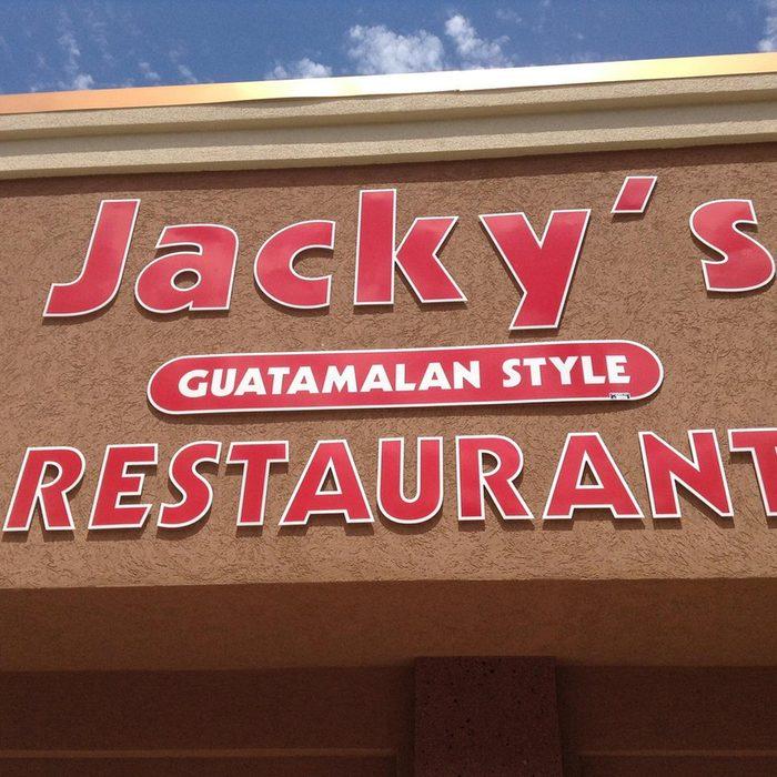South Dakota: Jacky's Restaurant, Sioux Falls
