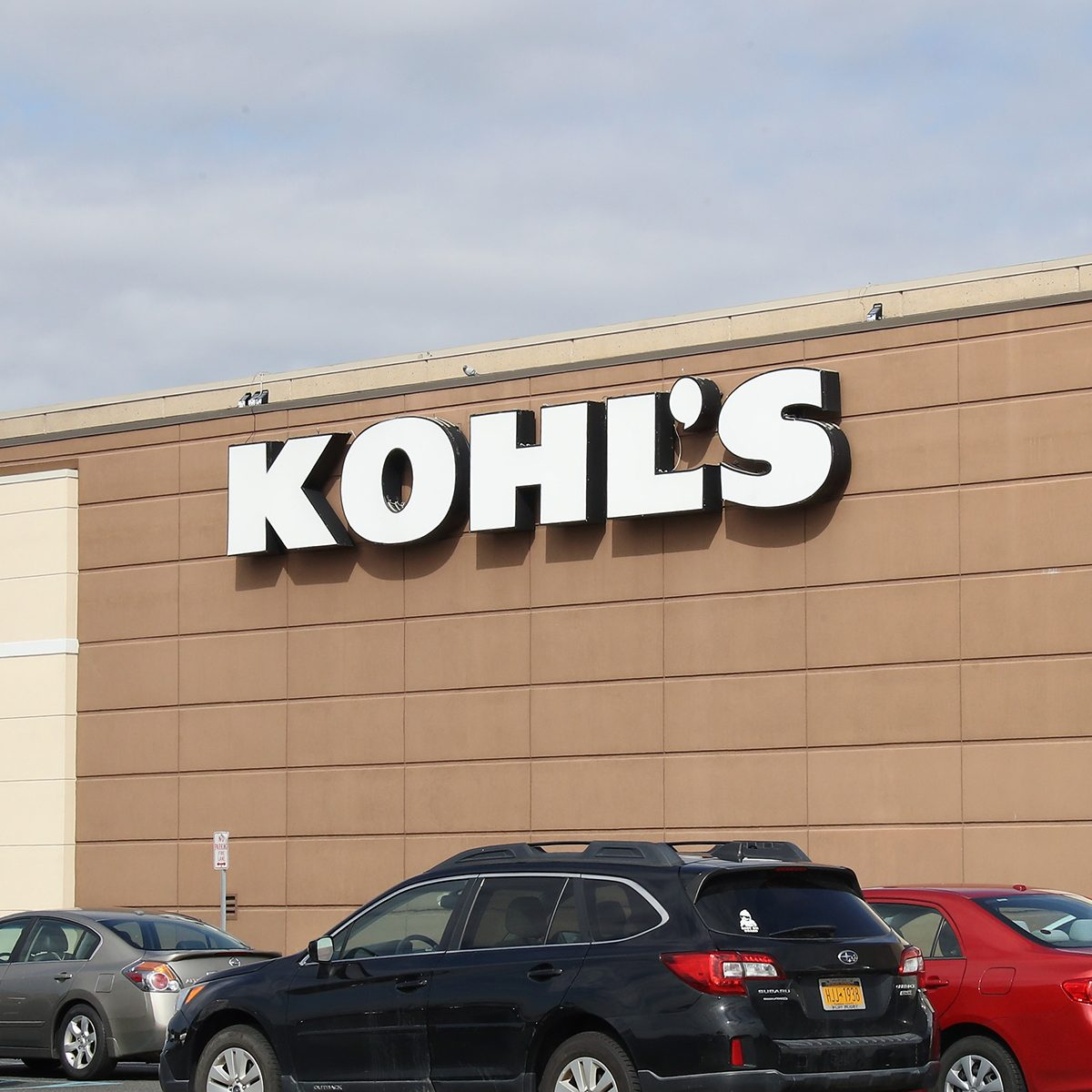 LEVITTOWN, NEW YORK - MARCH 16: An image of the sign for Kohl's as photographed on March 16, 2020 in Levittown, New York. (Photo by Bruce Bennett/Getty Images)