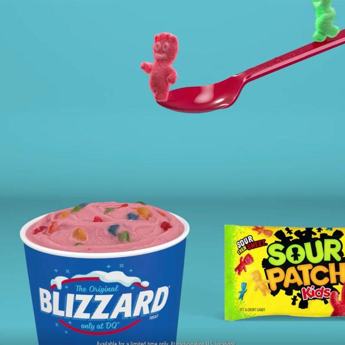 Sour Patch Kids Blizzard