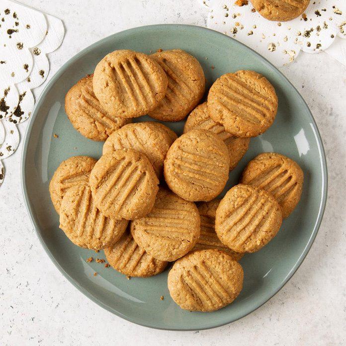 Healthy Peanut Butter Cookies