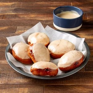 Peanut Butter and Jelly Doughnuts