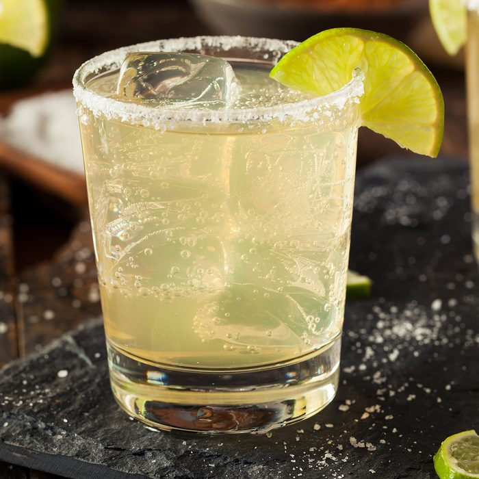 Homemade Classic Margarita Drink with Lime and Salt; Shutterstock ID 302106305; Job (TFH, TOH, RD, BNB, CWM, CM): TOH