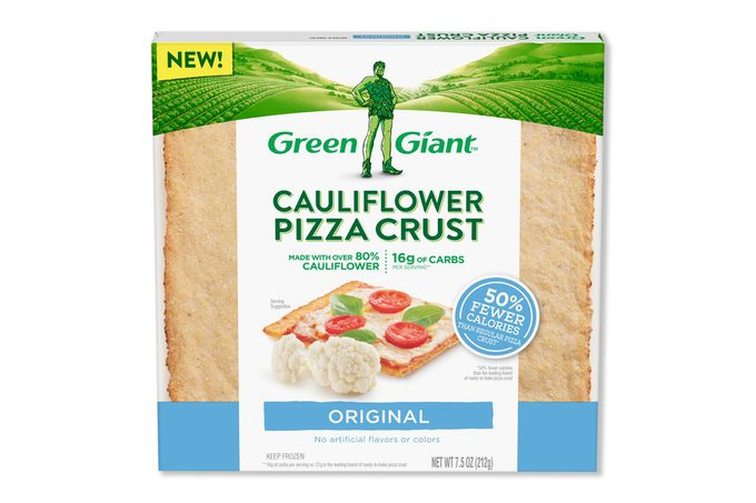 cauliflower pizza crust green giant