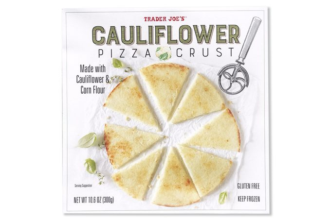 trader joes cauliflower pizza crust