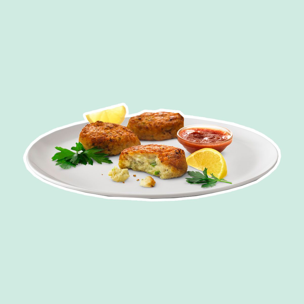 Chilled Crab Cakes