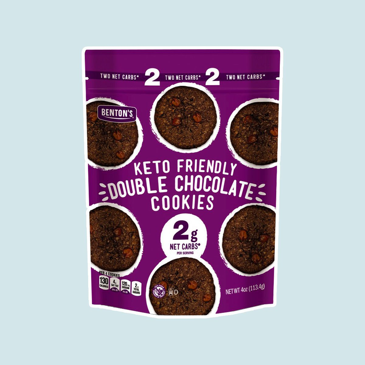 Keto Cookies Double Chocolate