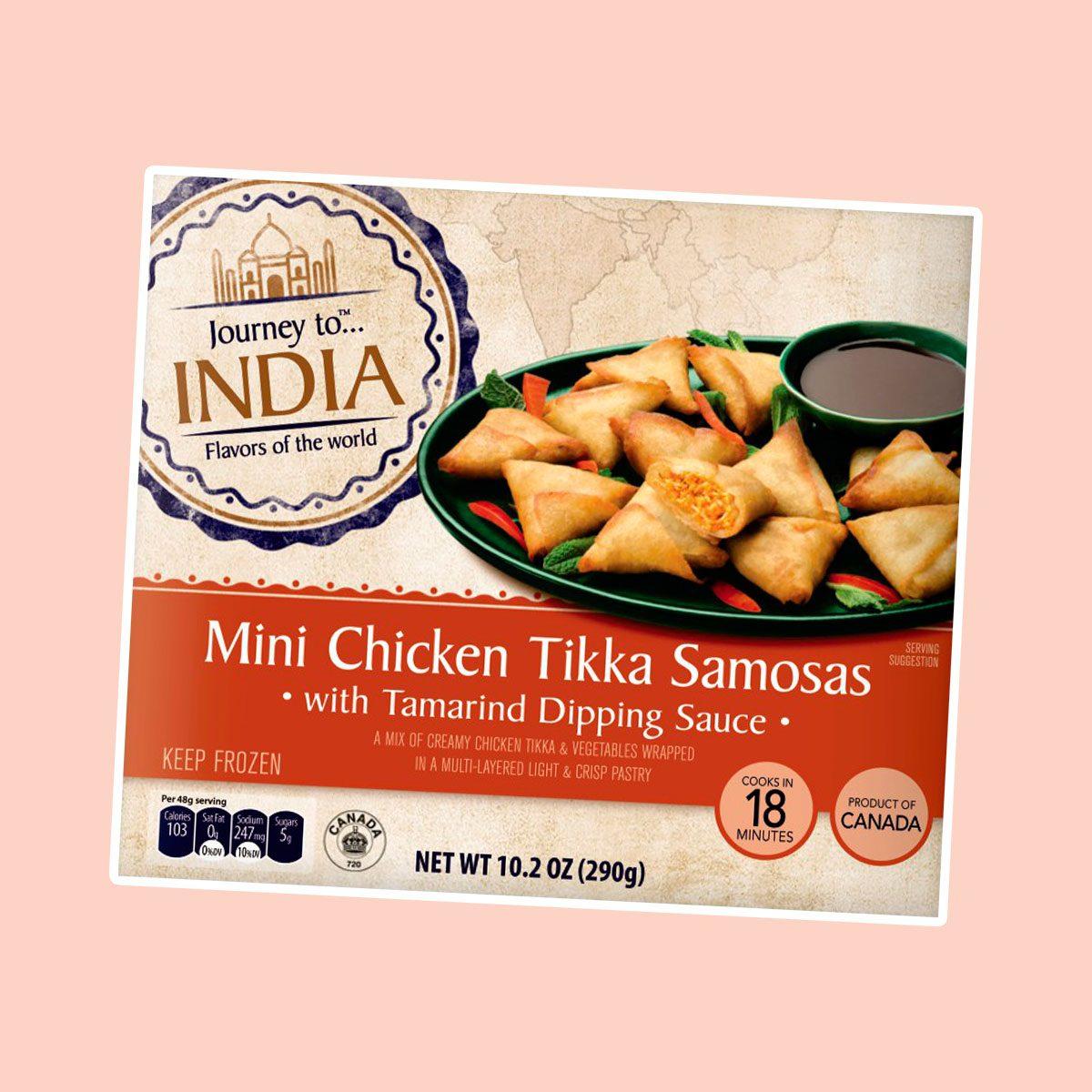 Mini Chicken Tikka Samosas